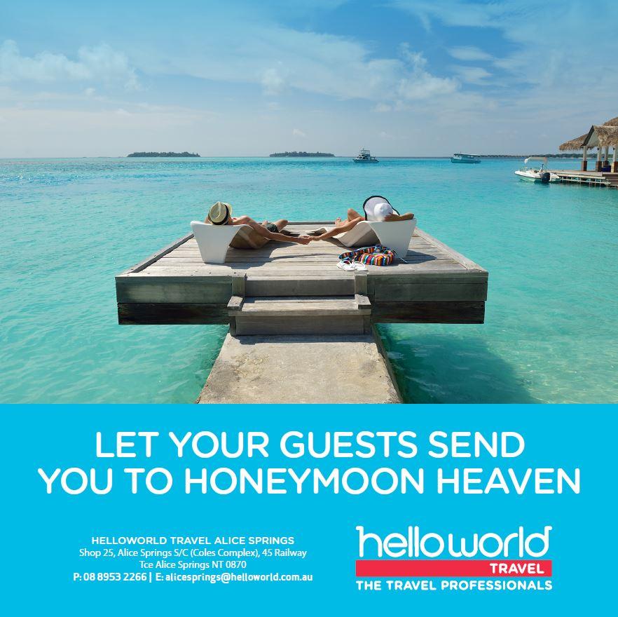 Helloworld Australia: Bridal Registry