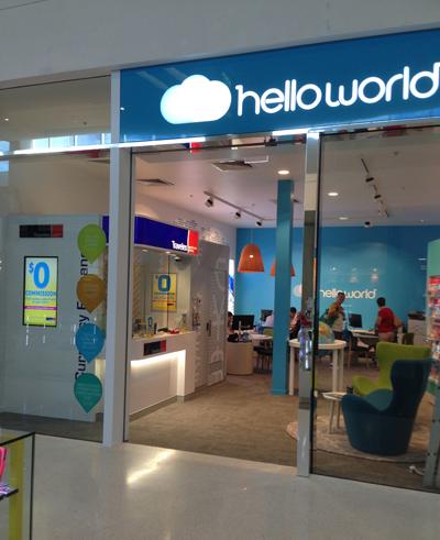 Helloworld Helensvale Westfield - Home