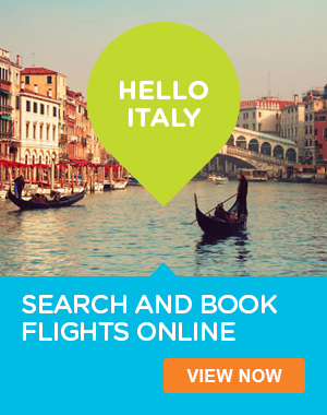 Book Cheap Flights to Italy